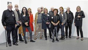 Beteiligte Künstler des BBK Westfalen u.a. Gisbert Danberg