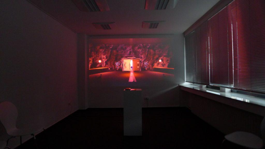 Matthias Danberg in der Galerie13, Bochum