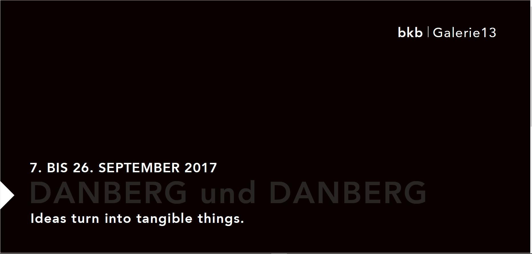 Danberg und Danberg in der Galerie 13 / bkb
