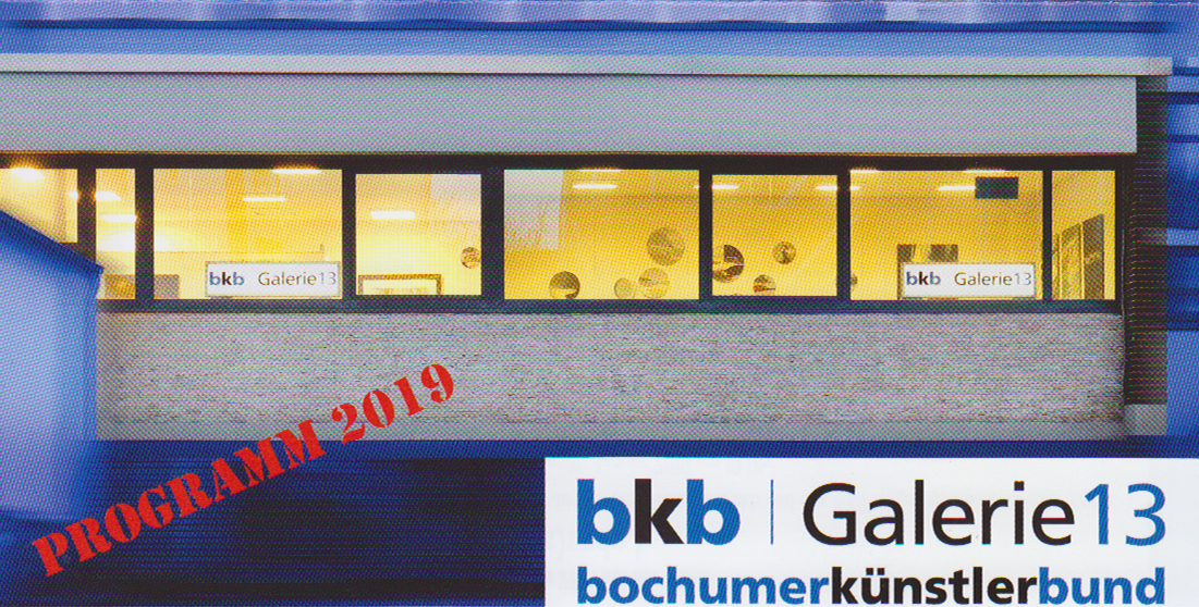 Galerie 13 - Ausstellungsprogramm 2019