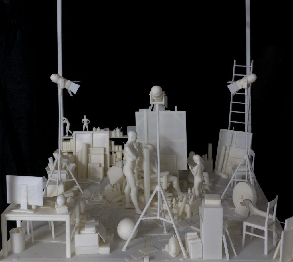 Danberg - Atelier - Galerie 13 - kritisch.politisch