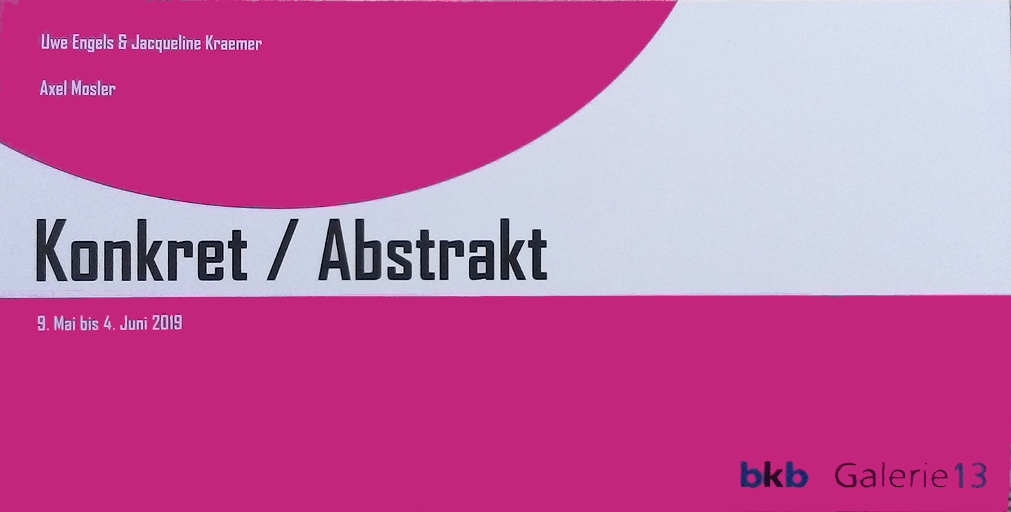 Galerie-13-konkret/abstrakt
